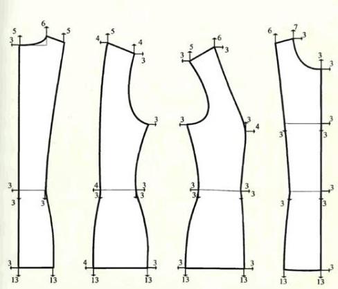 Конструирование Блузки Полуприлегающий Силуэт